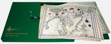 Universal Atlas of Fernão Vaz Dourado (1571) Arquivo Nacional da Torre do Tombo, Lisbon. Rare books, fine art.
