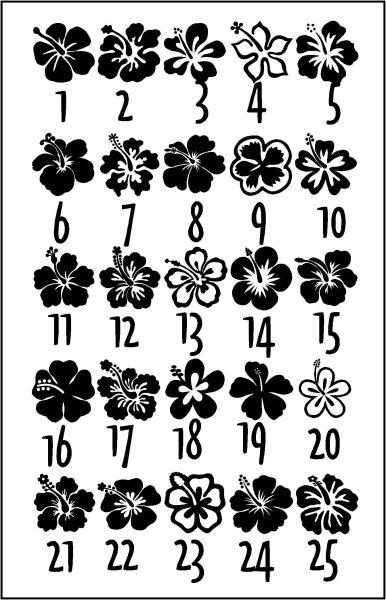Hibiscus Flower Designs Hawaiian Tattoo Hibiscus Flower Tattoos Flower Drawing Design