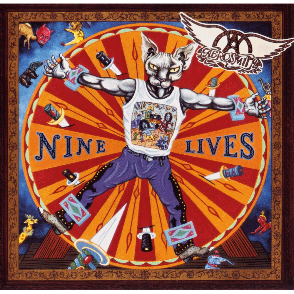 Aerosmith Nine Lives Aerosmith Hole In My Soul Rock Album Covers