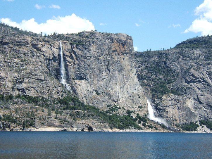 Wapama Falls at Hetch Hetchy Yosemite National Park