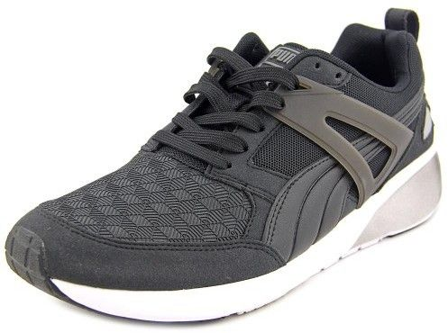PUMA Womens Aril 3D Low Top Lace Up Running Sneaker Black dark Shadow Size 7.5