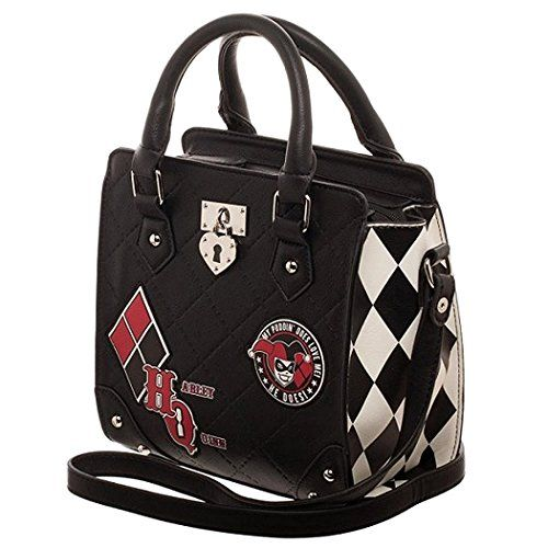 Harley And Ivy In Justice Gotham City Crossbody Bag For Men Women Single Shoulder Pack One Size