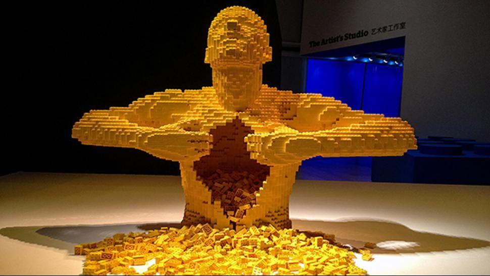 ARTE. Mirá la galería de obras. (Foto: brickartist.com). GREAT WORKS