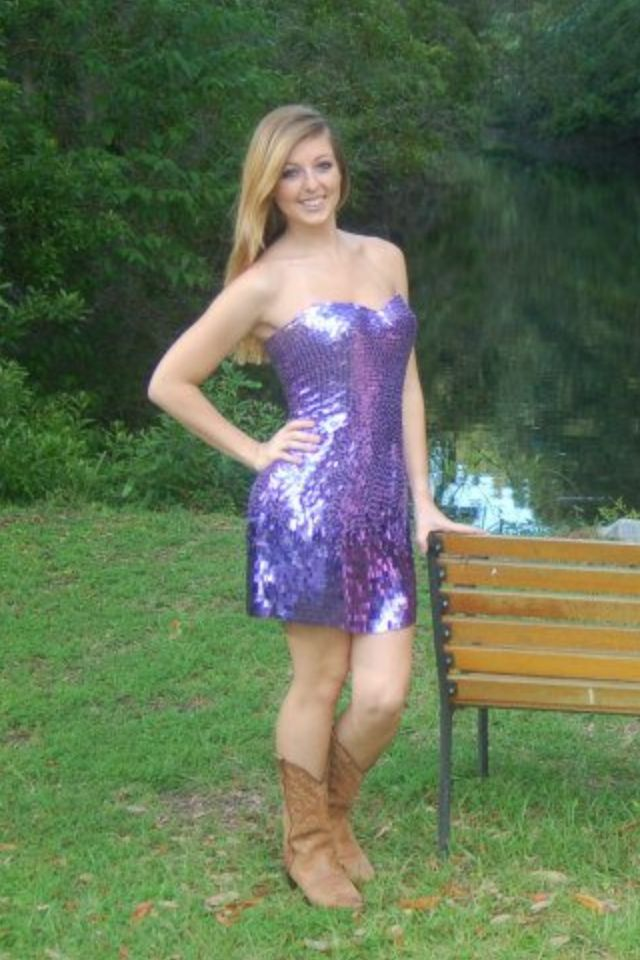 Prom dress with cowgirl boots   Red carpet ♥   Pinterest ...  Prom dress with...