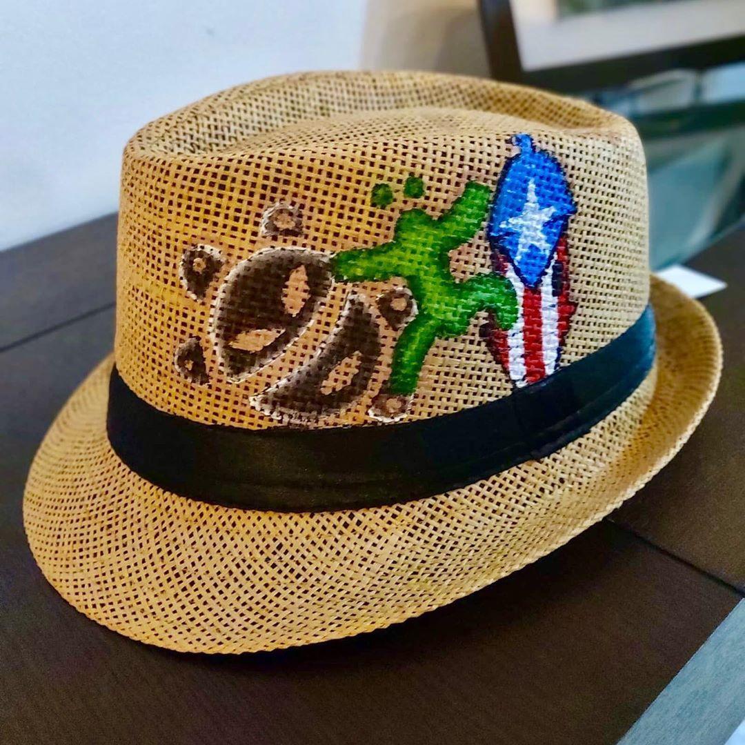 Boricua Shabby Chic On Instagram Hat Art Puerto Rican Art Orgullo Boricua Puertorico Puertoricostyle Prstrong Prstr Hat Art Shabby Chic Shabby