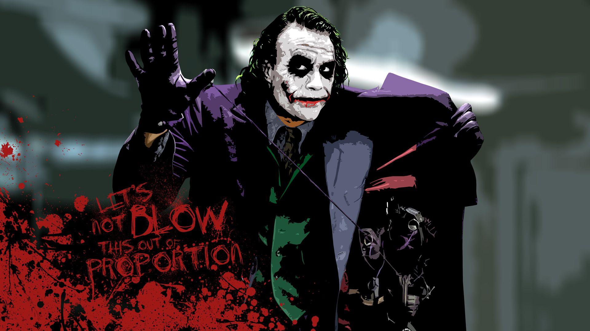 Out Of Proportion Joker Wallpapers Batman Joker Wallpaper Joker Hd Wallpaper Dark knight horror joker wallpaper hd
