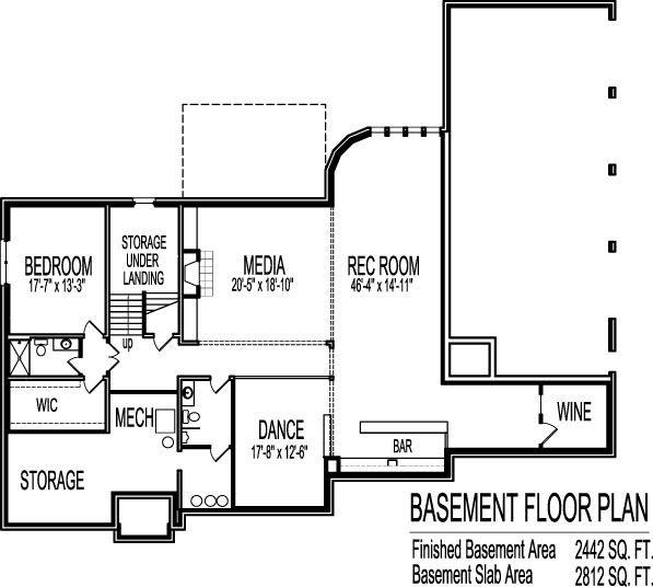 6000 Square Foot Million Dollar House Floor Plans 6 Bedroom Blueprints Open Concept Floor Plans Basement House Plans Basement Floor Plans