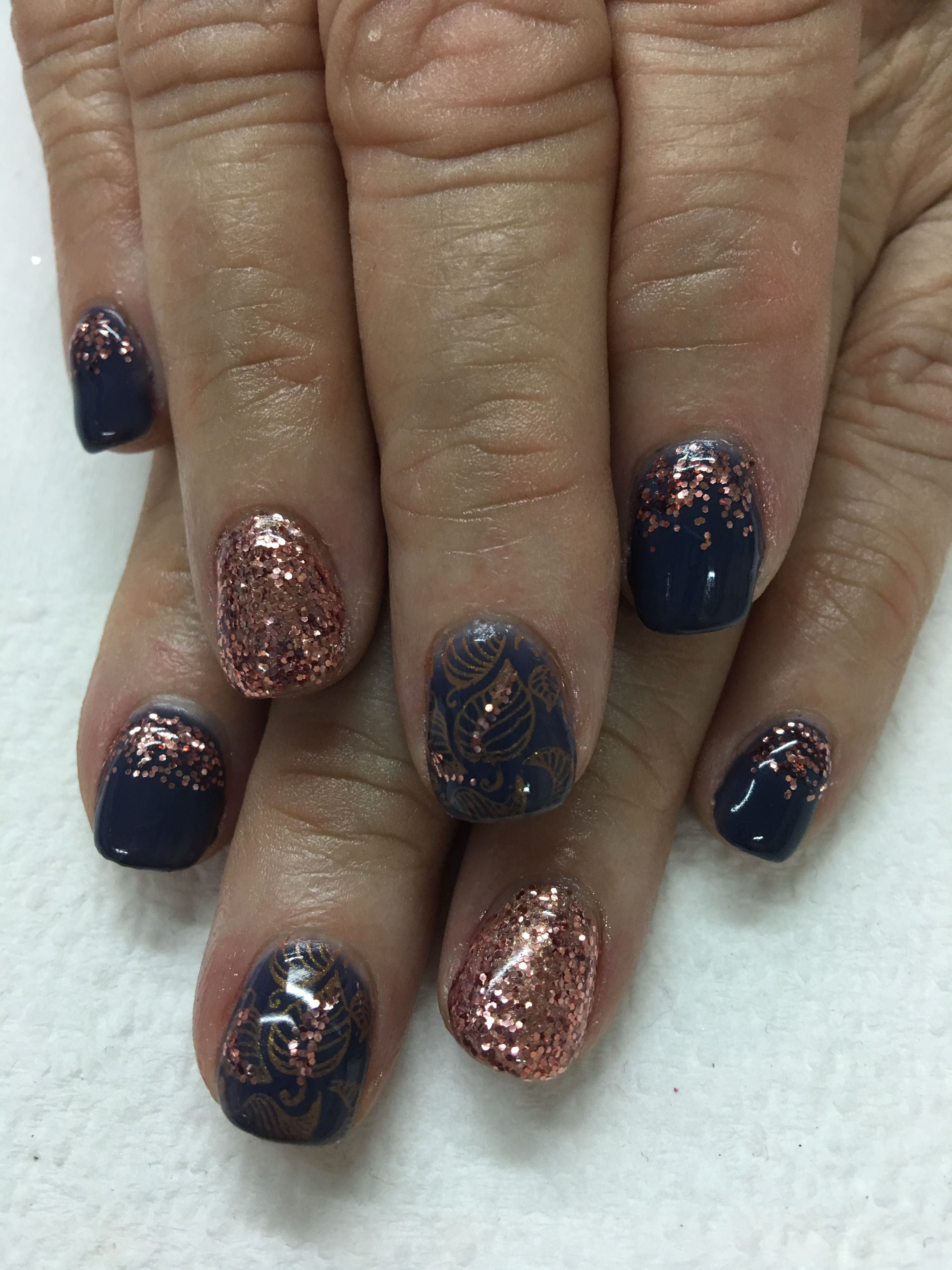 OPI Less is Norse dusty blue and Light Elegance Betty Davis Rose ...