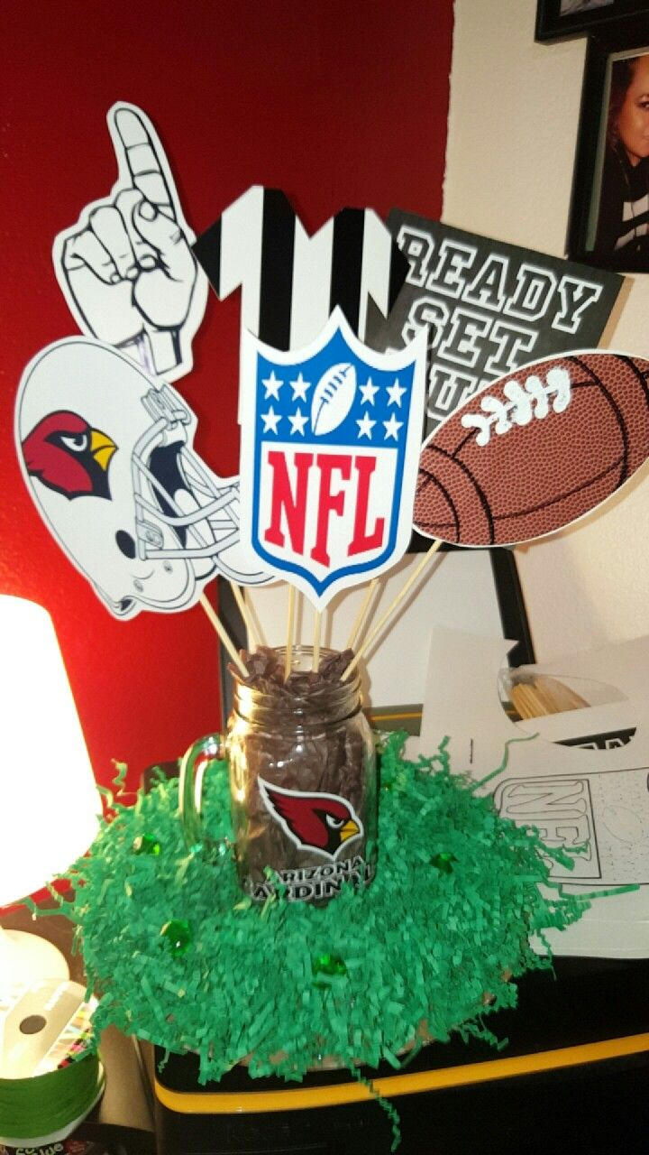 bba94f0a Arizona cardinals party centerpieces ! | My Creations☆ in 2019 ...