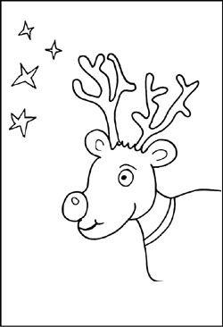 Malvorlage Weihnachten Rentier Malvorlagen Weihnachten Ausma