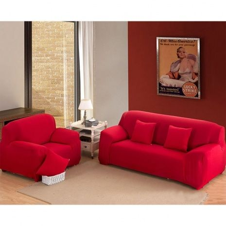 Red Couch Covers