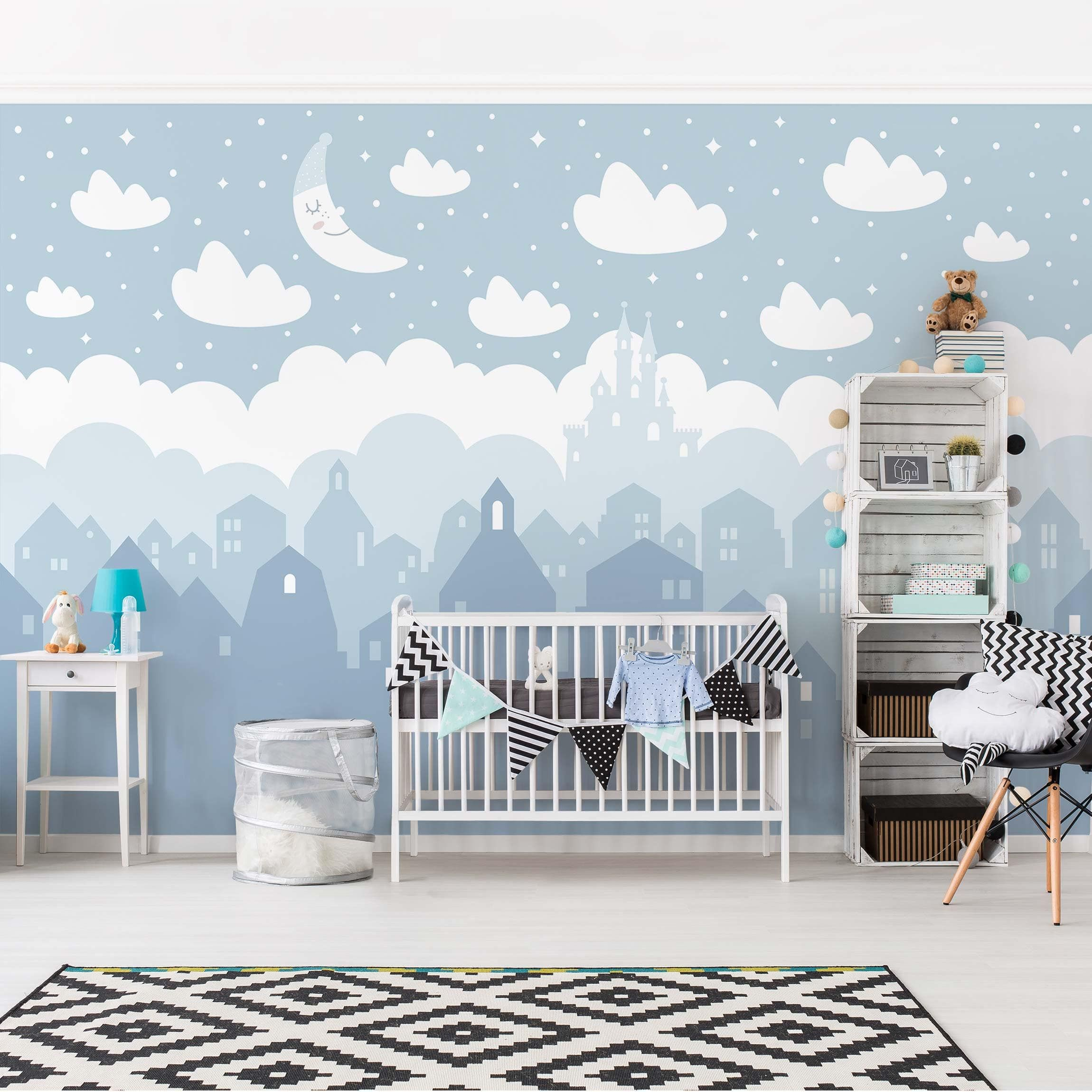 12++ Tapeten ideen fuer babyzimmer Sammlung