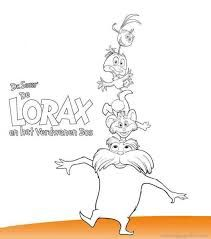 dr. seuss characters coloring pages - Google Search | The ...