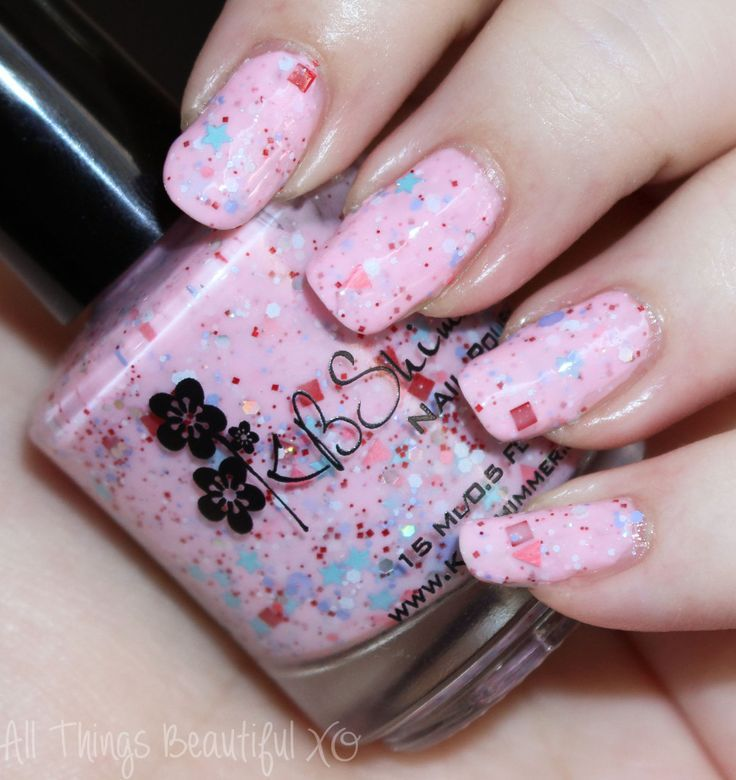 KBShimmer Sweet Egg-scape Nail Polish- more swatches from this collection on All Things Beautiful XO