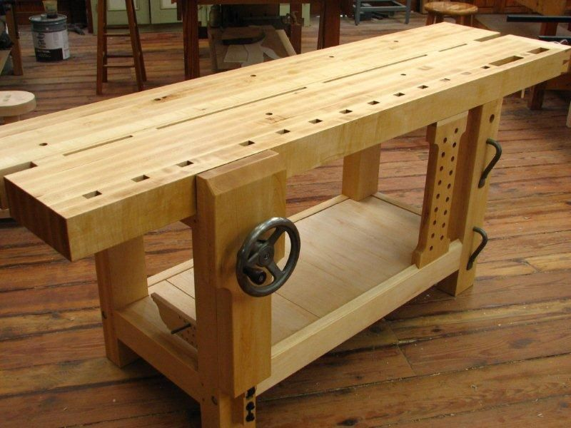 Woodworking Bench Ideas Part - 32: Roubo Woodworking Bench Plans There Are Tons Of Helpful Tips Pertaining To  Youru2026