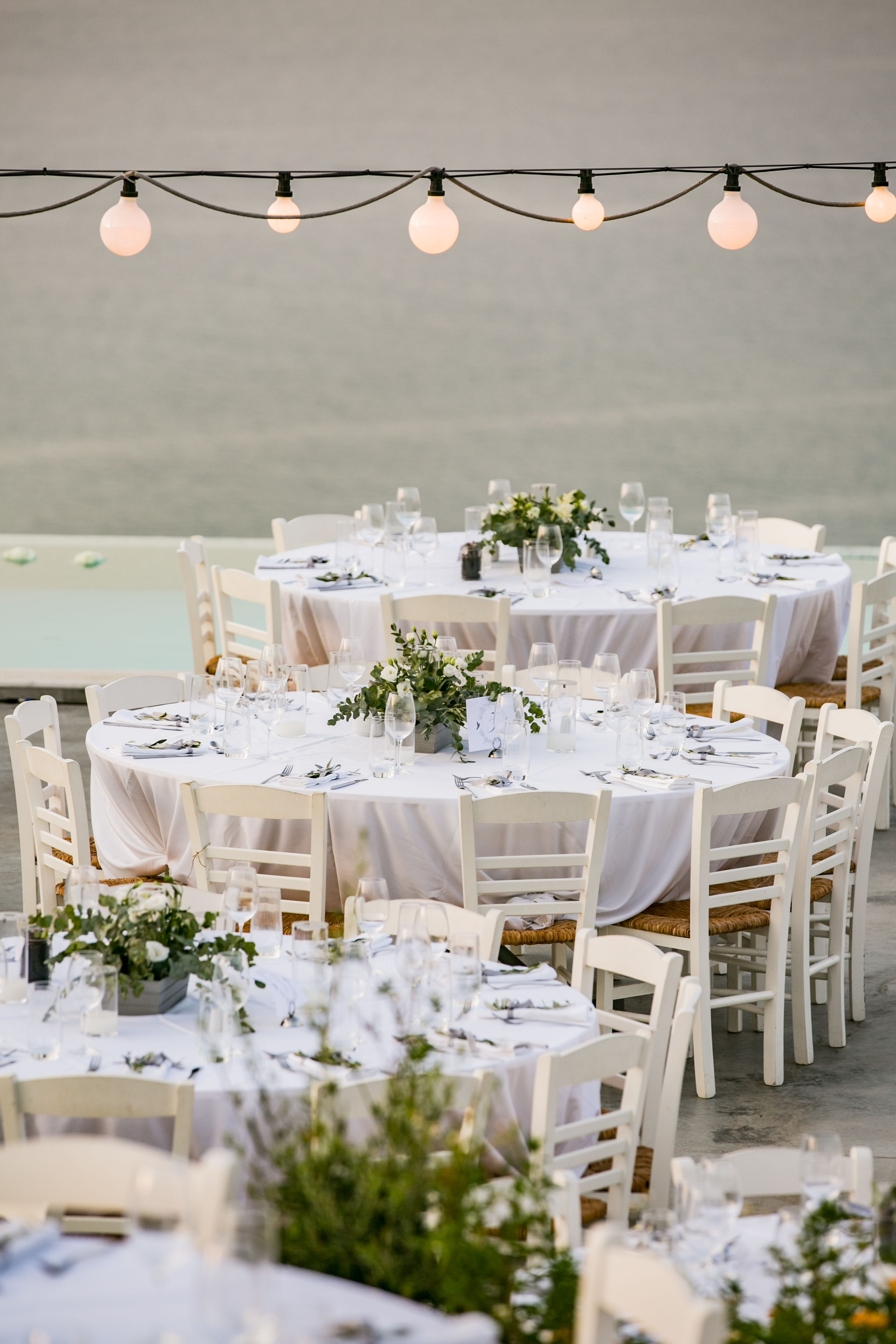 Wedding Venue Greek Wedding Sea View Outdoor Venue Summer