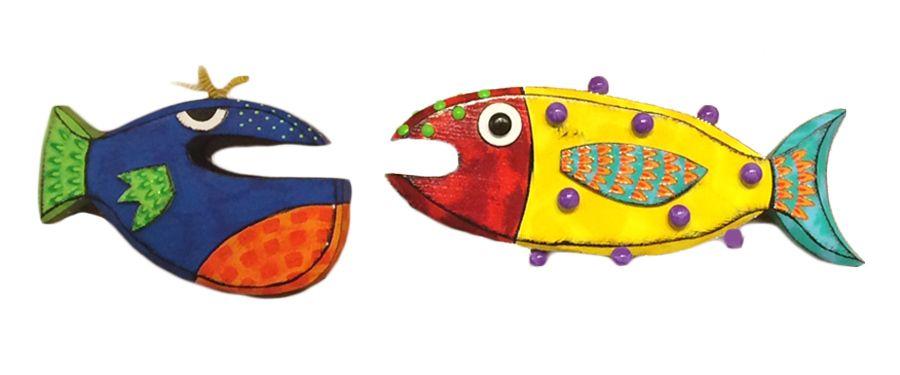 Is it fish? Is it #WallArt ? Yes. It's #fishy wall art.