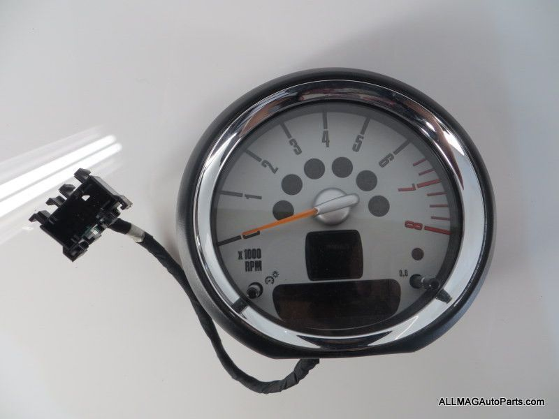 2007-2015 Mini Cooper Tachometer Revolution Counter Chrome 35 62109201399