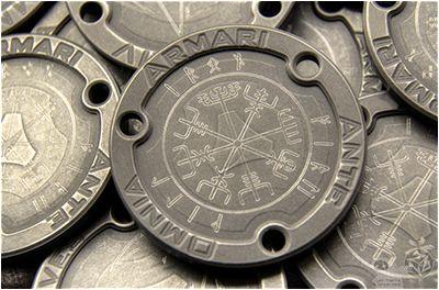 titanium challenge coin