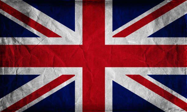 grunge flag of the united kingdom background