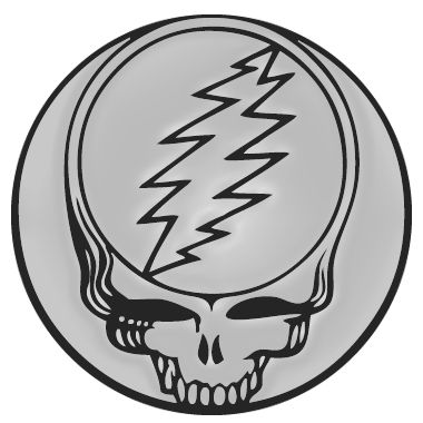 Grateful Dead Emblem Grateful Dead Dead Heads American Rock Band