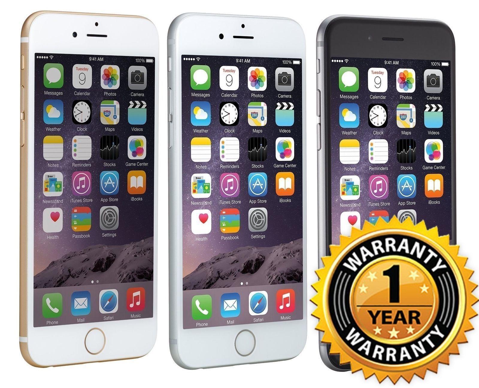 139 99 Apple Iphone 6 16gb Gsm Unlocked 4 7 Display Smartphone 1 Year Warranty Apple Iphone 16gb Unlocke Apple Iphone 6 Iphone 6 16gb Apple Iphone