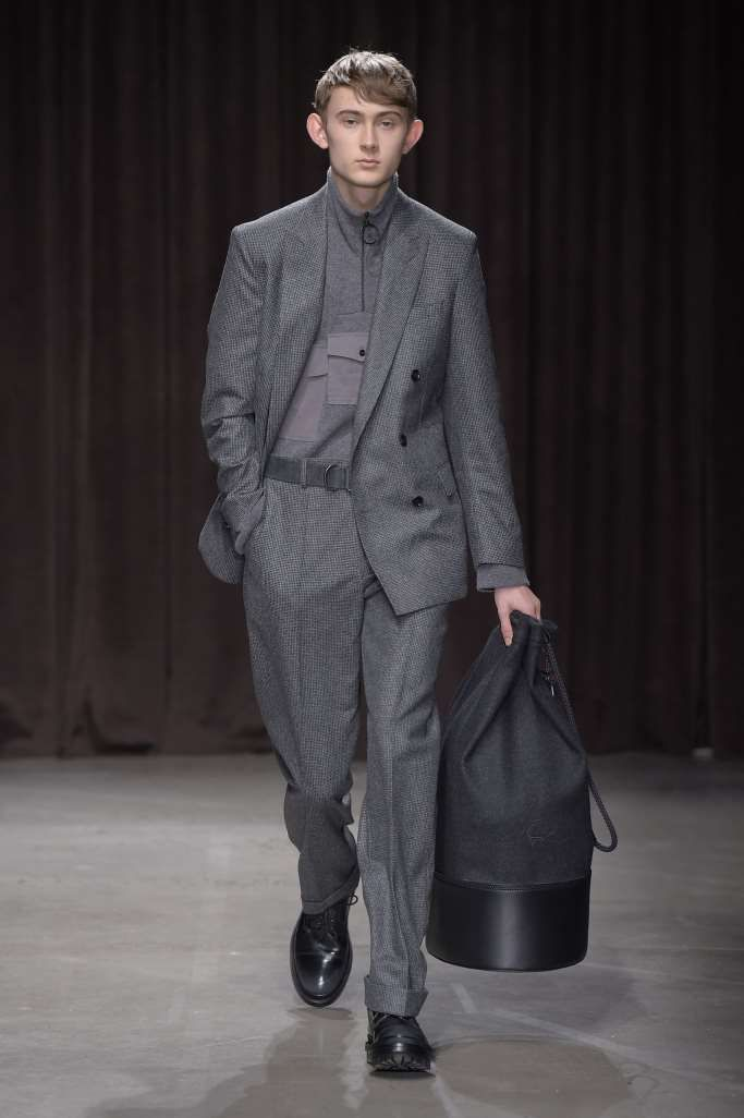 7bcf3a3709e04 Male Fashion Trends  Hugo Boss Fall-Winter 2017 - New York Fashion Week  Men s