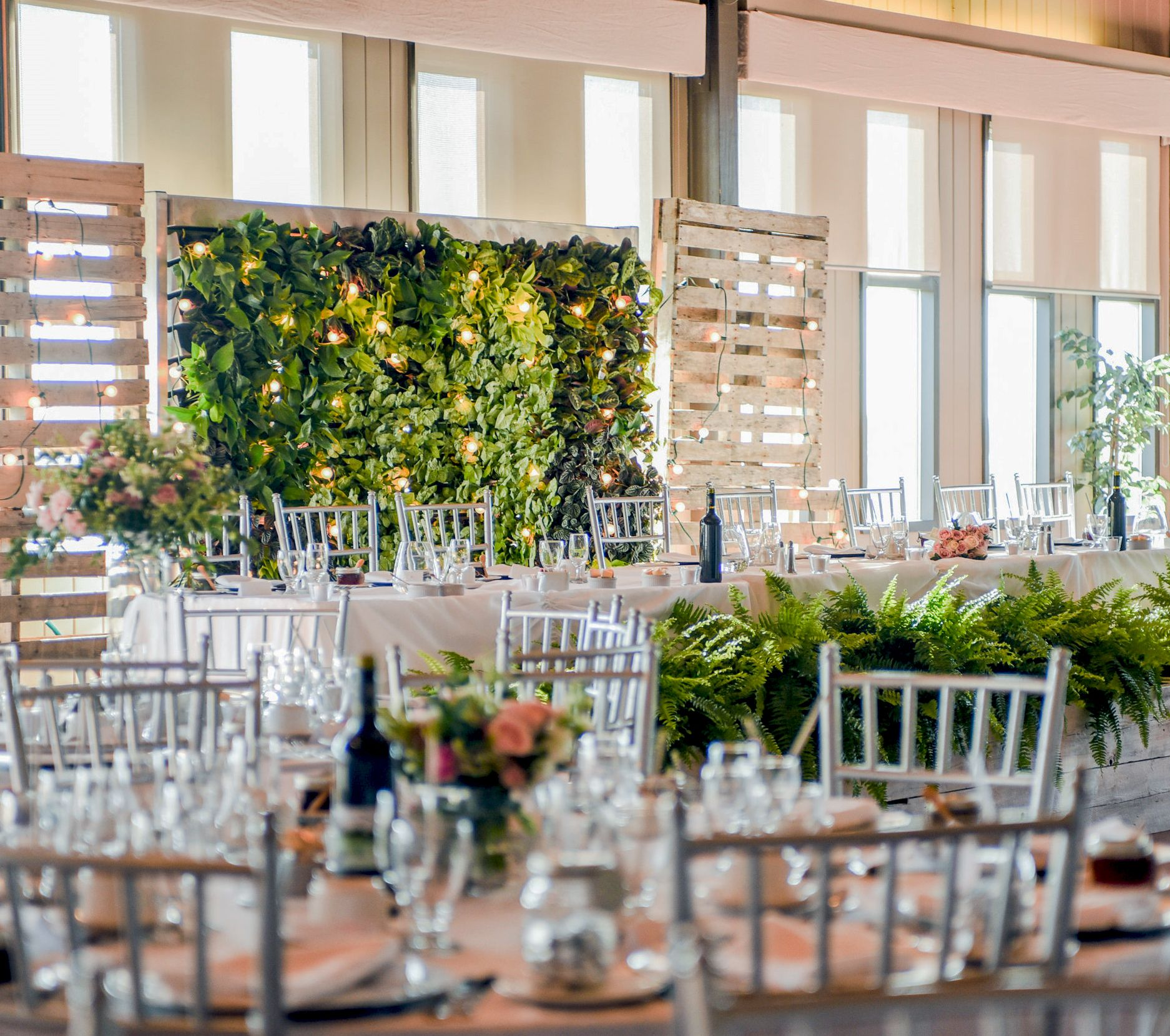 Wedding Living Wall