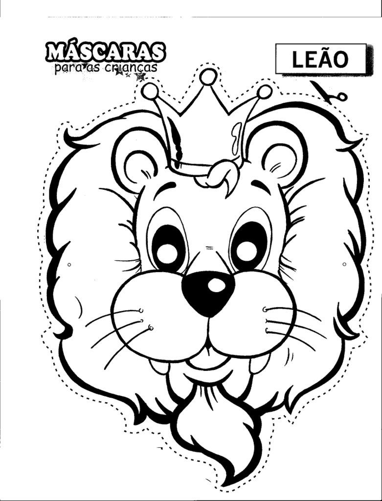 Carnival masks leo Coloring pages, Colorful drawings