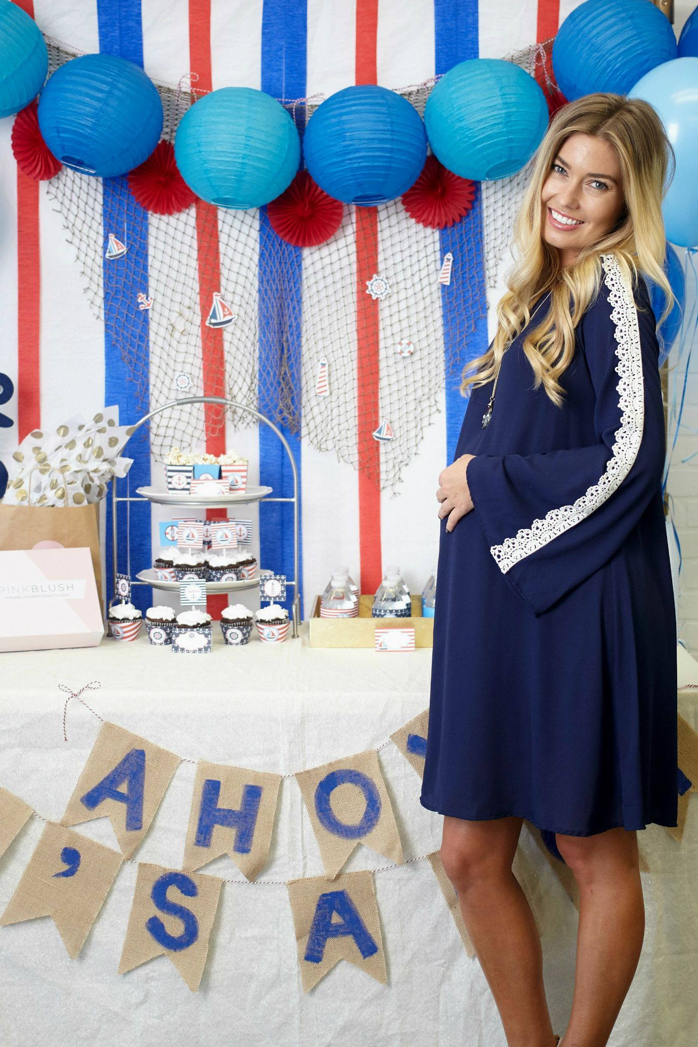 Ahoy It s a Boy Baby Shower Inspiration and Style for a boy