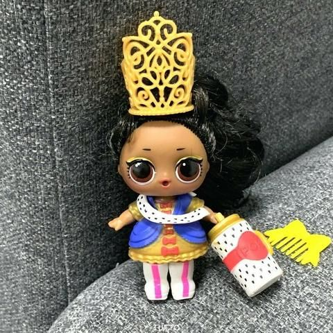 Lol Surprise Doll BHADDIE Series5 Hairgoals Ultra Rare no earing Color changed