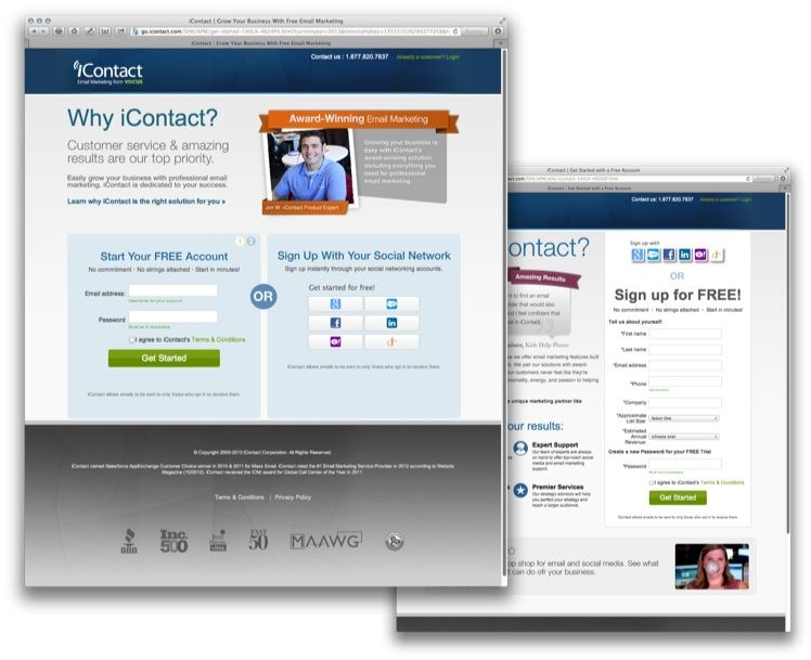 Pin By Ion Interactive On Inspiring Landing Pages Blog Marketing