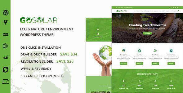 Download Go Solar v1.0.1 - Eco & Nature / Environment WordPress ...