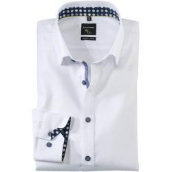 Olymp No. Six Hemd, super slim, Extra langer Arm, Weiß, 41 Olympolymp
