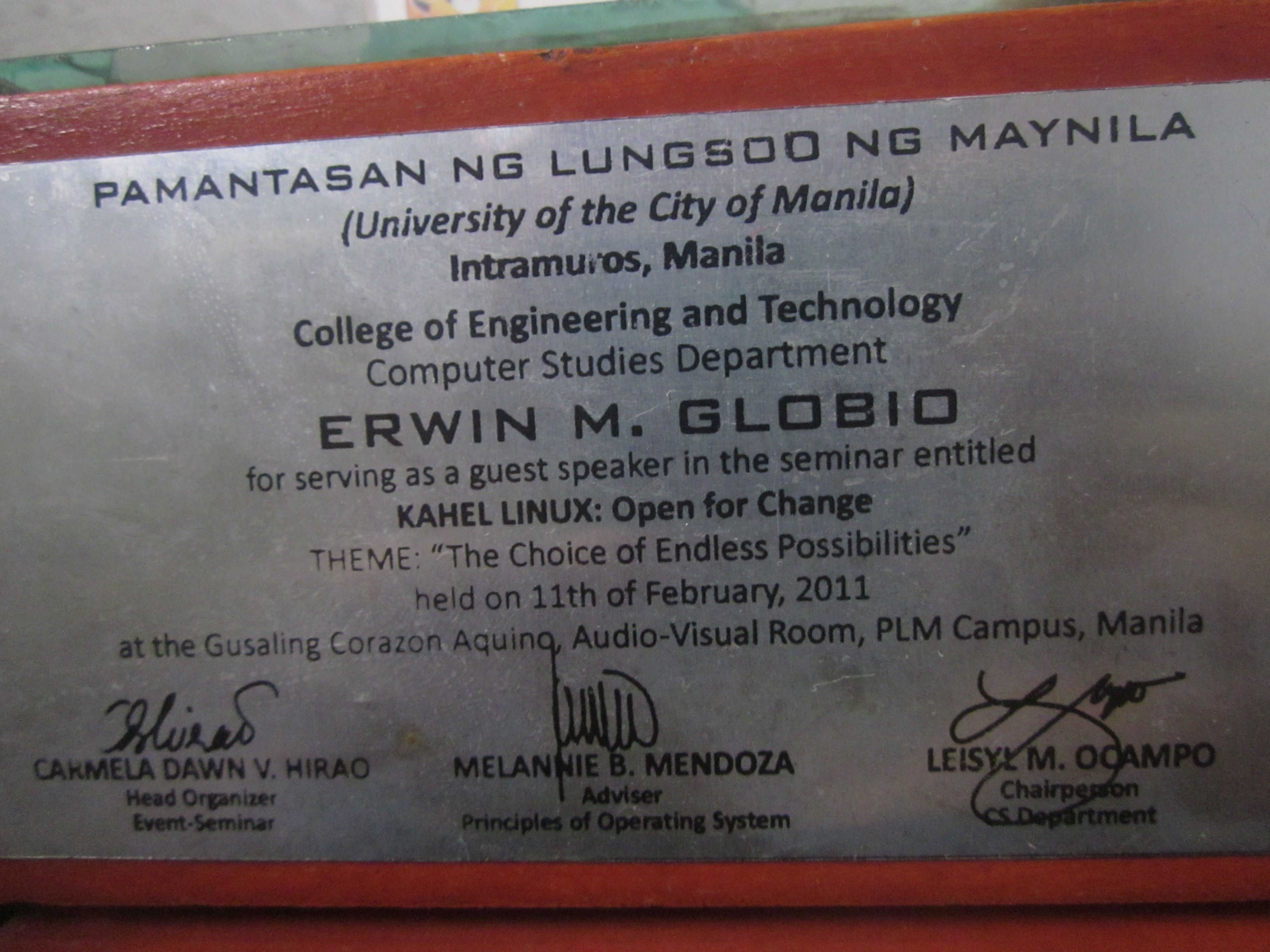 Prof erwin globios certificate of appreciation http erwin globios certificate of appreciation httpeglobiotraining yelopaper Choice Image