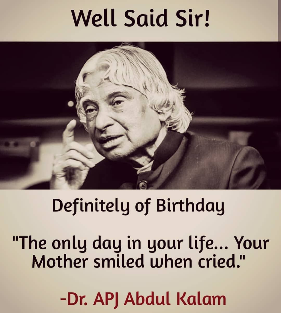 """😊😊😊""""The only day in your life Your Mother smiled when cried"""
