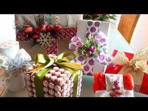 DIY- Envuelve tus regalos de una forma original! - YouTube