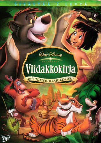 Disney Klassikko 19 Viidakkokirja 40 Vuotis Juhlajulkaisu Disney Movies By Year Kids Movies Childrens Movies