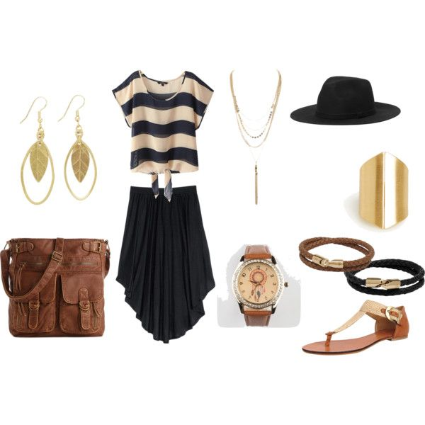 """""""Summer's Golden"""" by c-couzens on Polyvore"""