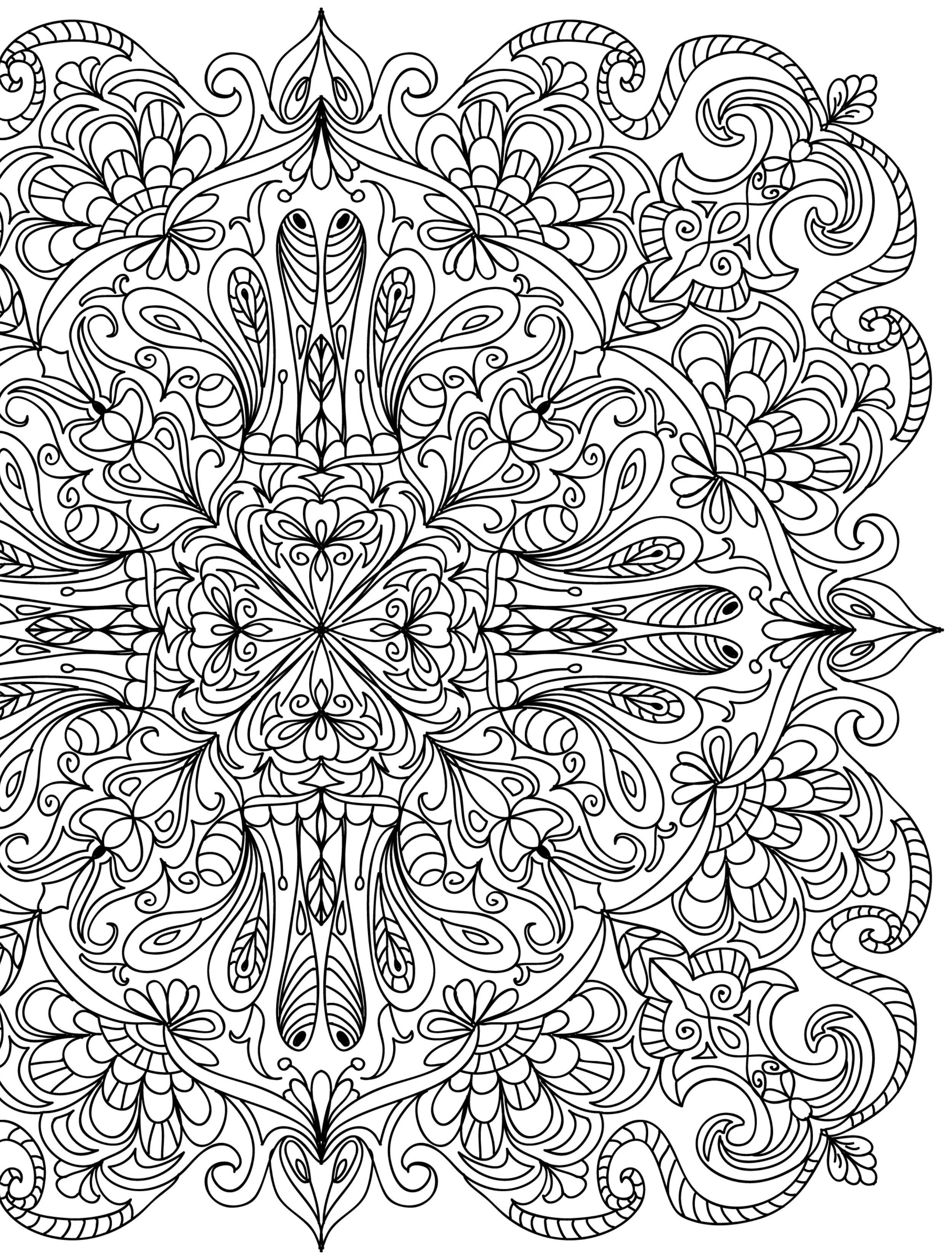 15 CRAZY Busy Coloring Pages for Adults | Ausmalbilder für ...