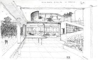 el plan b arquitectura: le corbusier,villa savoye | le courbusier, Innenarchitektur ideen