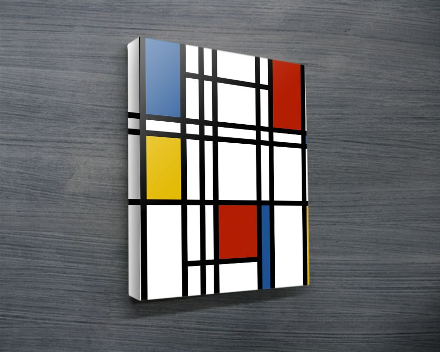 mondrian canvas art modern art canvas prints photo canvas printing interior design ideas wedding gift ideas - Canvas Design Ideas