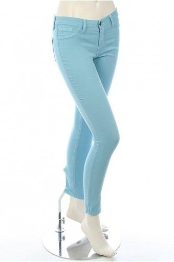 LOVELY PASTEL COLORED SKINNY JEANS-Jeans,$46.95