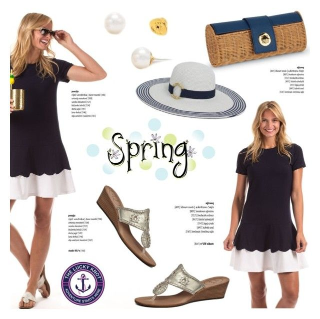 Spring ahead! by helenevlacho on Polyvore featuring theluckyknot