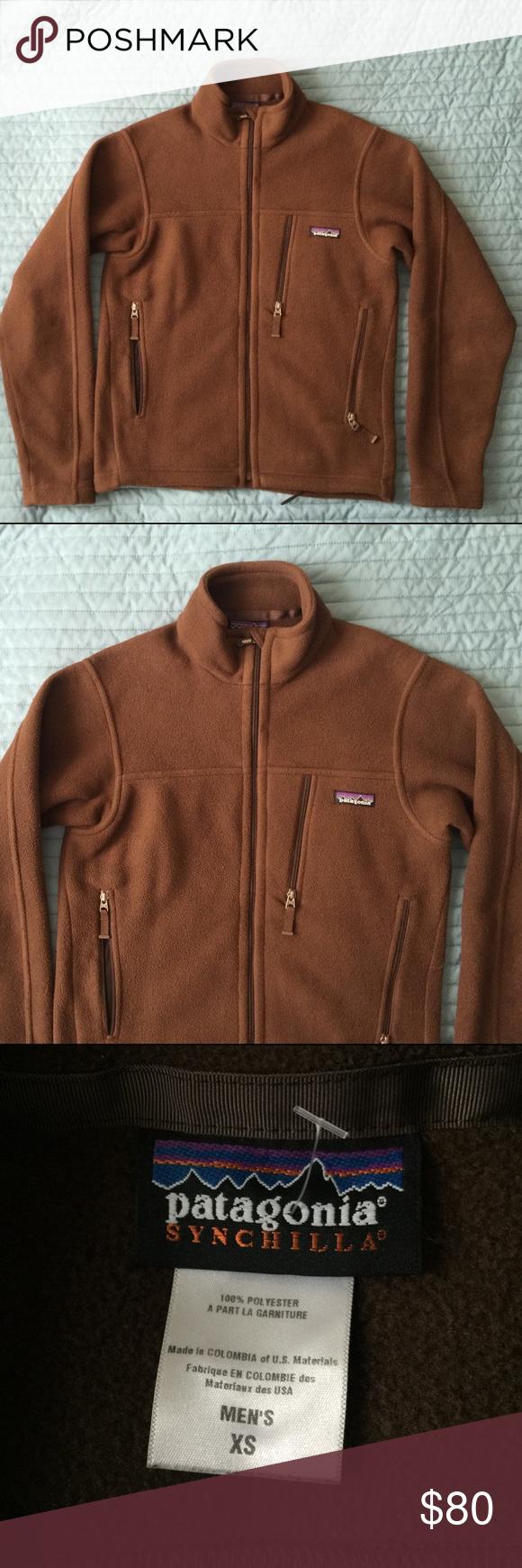 Patagonia synchilla sweater fleece jacket like new fleece sweater