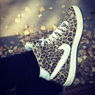 nike leopard print high tops