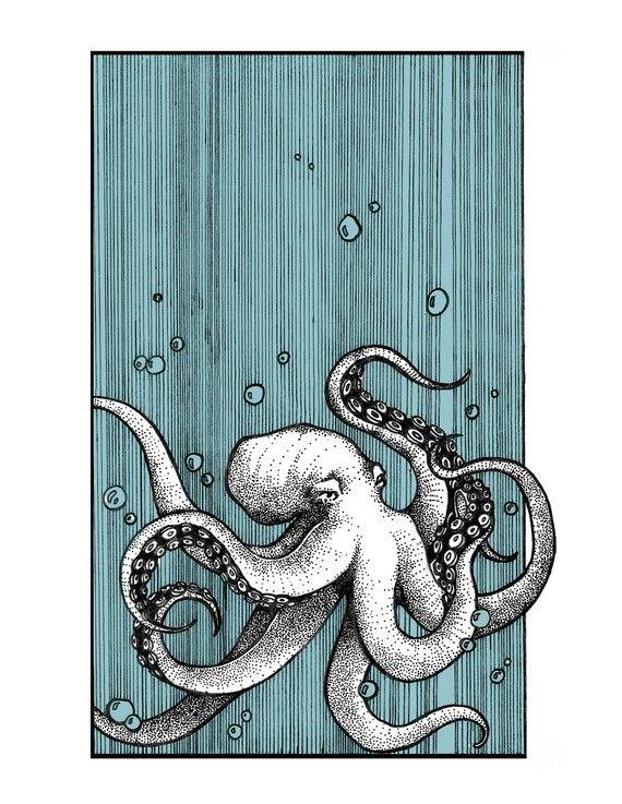 Cette illustration d'Hilary Glass est très inspirante. Utilisez la technique du Zendoodle pour reproduire un projet similaire sur céramique! Venez nous visiter au Crackpot Café pour réaliser votre prochain projet de peinture sur céramique!