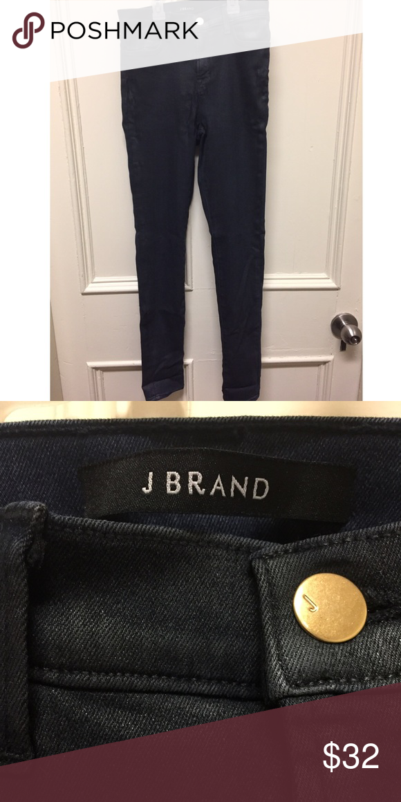 Dark Blueish-Grey J Brand Jeans NWOT Authentic J brand jeans, never worn. Skinny jeans with some stretch. No flaws, smoke free home. Open to offers. J Brand Pants Skinny