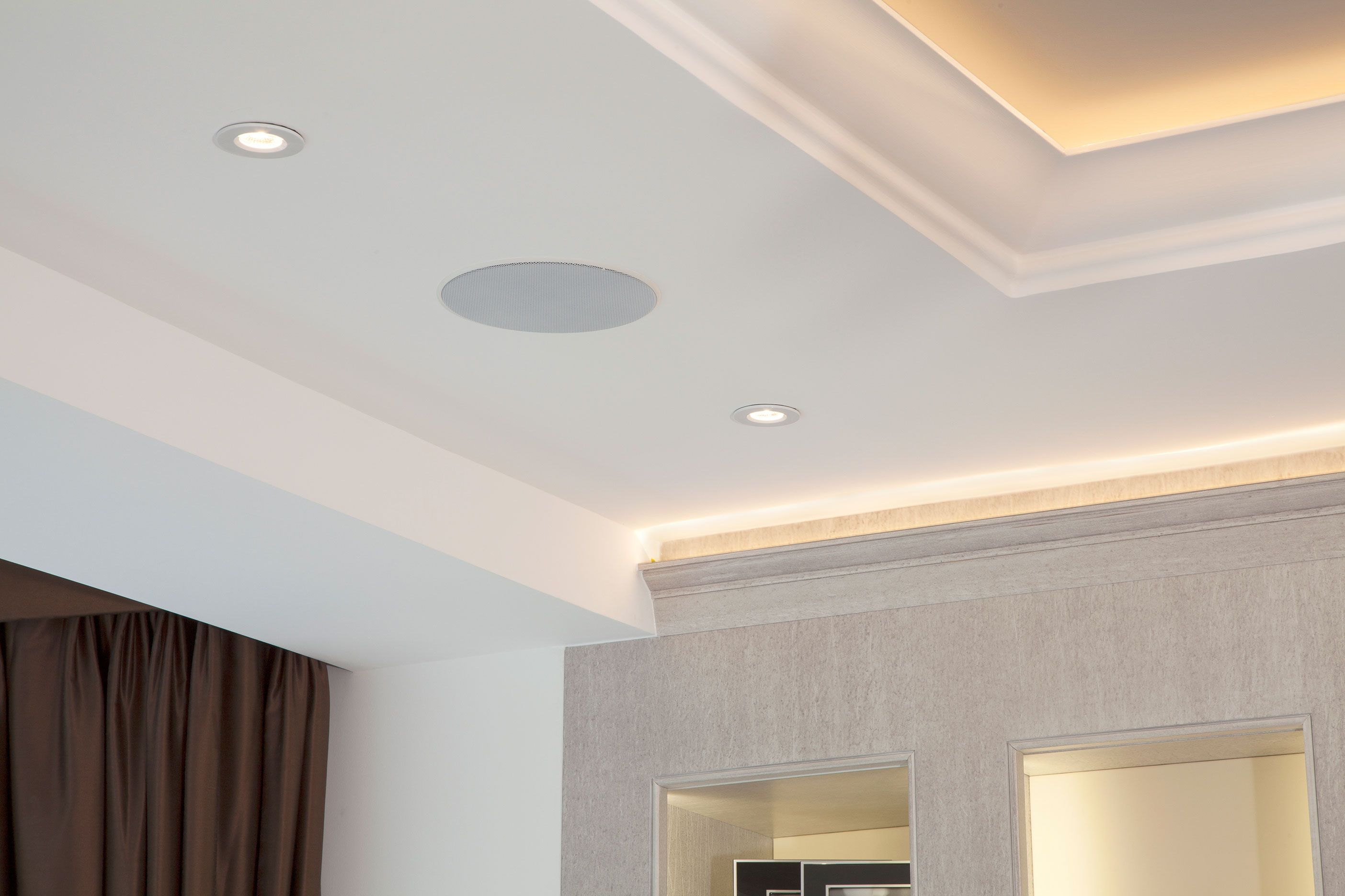 Led Lit Coffered Ceiling Coffered Ceiling Led Lights False Ceiling