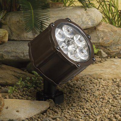 Kichler Emitting Diode LED Flood Light Finish: Bronzed Brass #lightemittingdiode